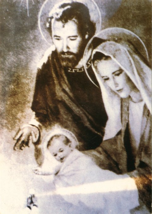 a picture of the Holy Family