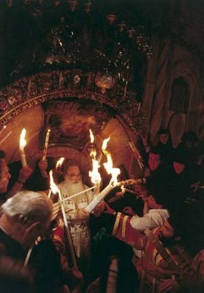 Miracle Of The Holy Fire Holy Light In The Church Of The